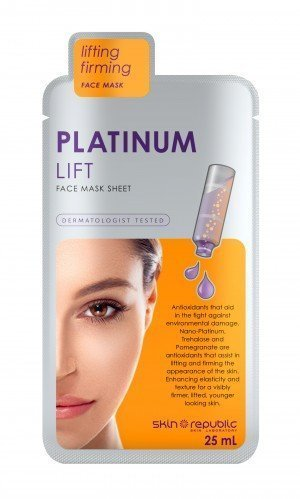 Skin Republic Face Mask Platinum Lift (25ml) 10 pack