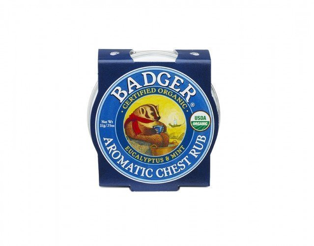 Badger Balm Mini Aromatic Chest Rub