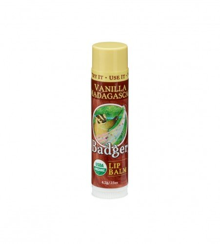 Badger Lip Balm Vanilla Madagascar (6 x 4.2g)