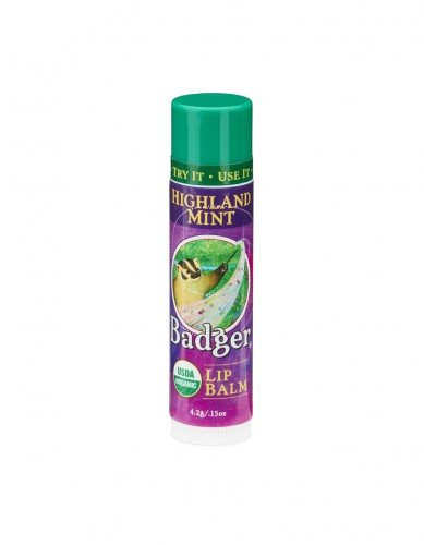 Badger Lip Balm Highland Mint (6pc x 4.2g)
