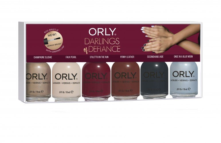 ORLY Seasonal Lacquer Darlings Of Defiance  (6pc)