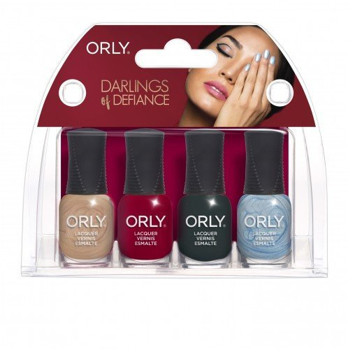 ORLY Nail Polish Darlings Of Defiance 4pc Mini Kit