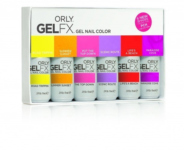 ORLY Gel FX Pacific Coast Highway (9ml) 6 PCS