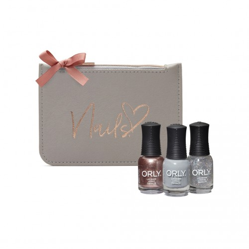 ORLY Christmas Gifts Marble Grey Purse