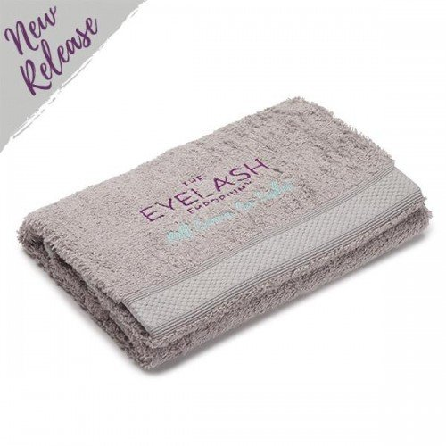 Costume Department Embroidered Grey Hand Towel