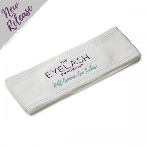 The Eyelash Emporium Costume Department Embroidered White Head Band