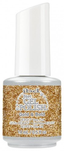 IBD Just Gel Polish Gold  Bold (14ml)