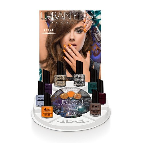 ibd Nail Lacquer Urban Edge Display