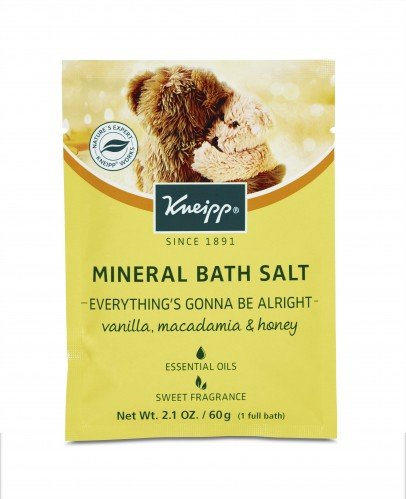 Kneipp Mineral Bath Salts 60g (12pc) Everything's Gonna Be Alright (Macadamia  Honey)