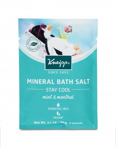 Kneipp Mineral Bath Salts 60g (12pc) Stay Cool (Mint and Menthol)