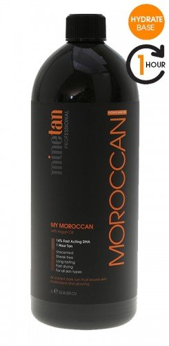 MineTan Moroccan Mist Hydrating (Argan Oil) 33.8 oz / 1L