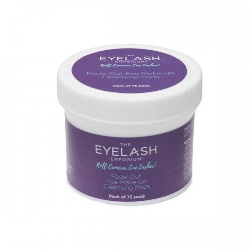 The Eyelash Emporium Treatment Prep Fade Out Eye Makeup Cleansing Pads