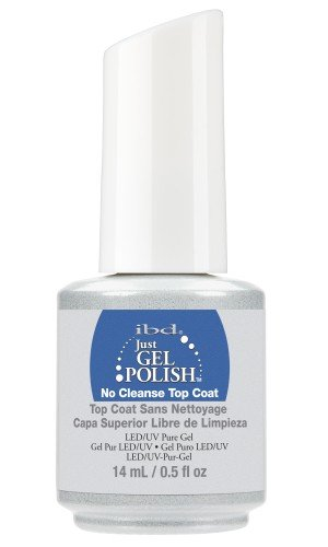 IBD JUST GEL POLISH JGP NO CLEANSE TOPCOAT 14ML