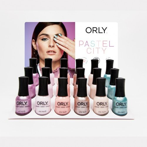 ORLY Nail Polish Pastel City 18pc Collection