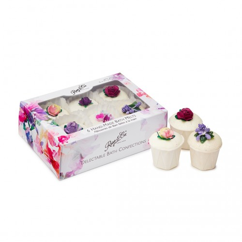 Rose  Co. Bath Fancies 6 Pack Mixed (6pc)