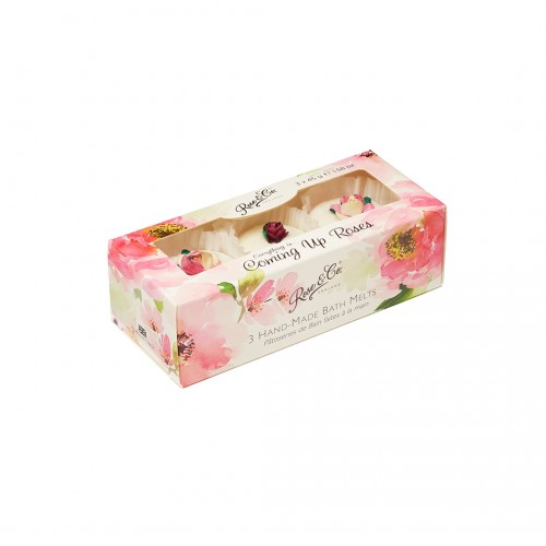 Rose  Co. Bath Fancies Trio Everything Roses (3pc)