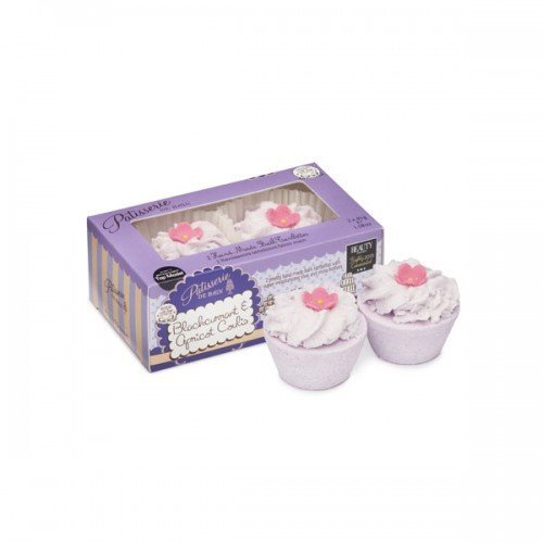 Patisserie De Bain Bath Tartlette Duo Blackcurrant  Apricot Coulis (2x 45g)