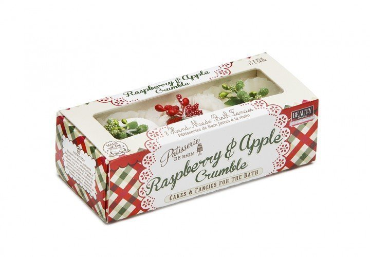 Patisserie de Bain Bath Fancies Trio Raspberry Apple