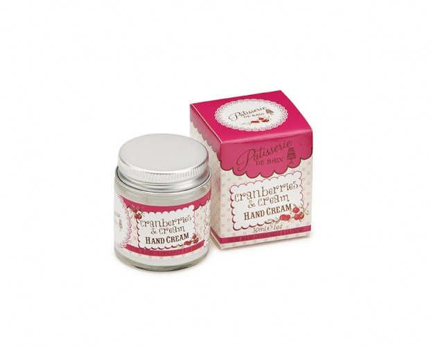Patisserie de Bain Hand Cream Jar Cranberries Cream