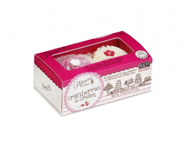 Patisserie de Bain Bath Tarlettes Cranberries Cream