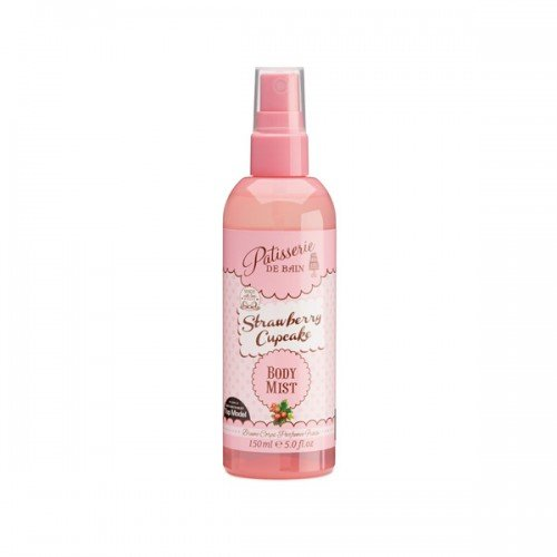 Patisserie de Bain Body Mist Spray Strawberry Cupcake 150ml