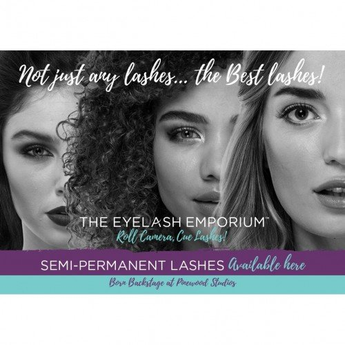 The Eyelash Emporium Strut Card - Generic A4 Portrait
