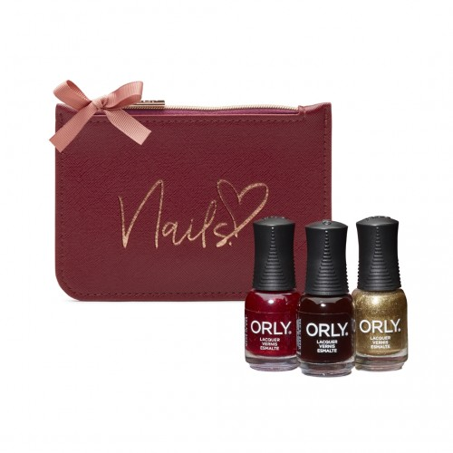 ORLY Christmas Gifts Scarlet Red Purse