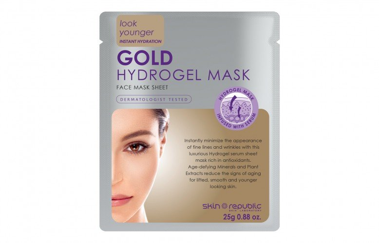 Skin Republic Face Mask Gold Hydrogel (25g) 10pk