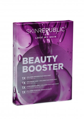 Skin Republic Face Mask Beauty Booster Gift Set (4pc)