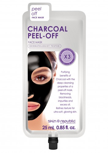 Skin Republic  Charcoal Peel-Off Face Mask (3 applications)