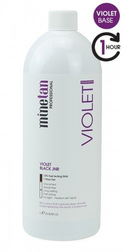 MineTan Violet Mist European Colour (Violet Base) 33.8 oz / 1L