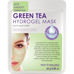 Skin Republic  Green Tea Hydrogel  Sheet Face Mask