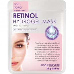 Skin Republic Face Mask Retinol Hydrogel 10pk