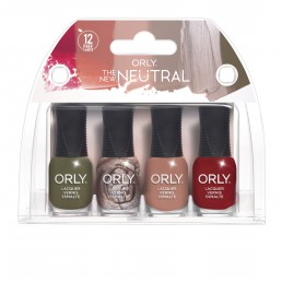 ORLY Nail Polish New Neutral 4pc Mini kit