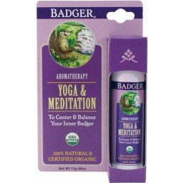 Badger Mind Balm Yoga  Meditation Display (6pc x 17g)