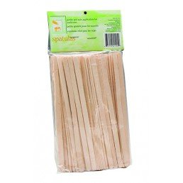 clean+easy Wooden Applicator Spatulas Petite (100pk)