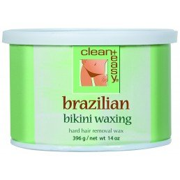 clean+easy Hard Wax Brazilian Bikini (14oz)