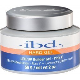ibd LED/UV Builder Gel Pink V (2oz)