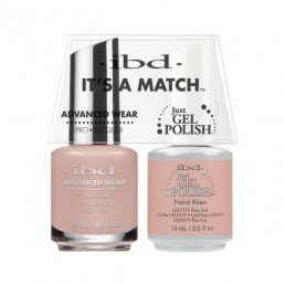 IBD IT'S A MATCH DUO JGP  ADVANCED WEAR FAINT KISS 14ML