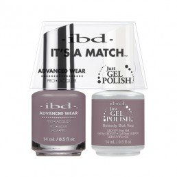 IBD IT'S A MATCH DUO JGP  ADVANCED WEAR NOBODY BUT YOU 14ML