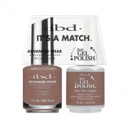 IBD IT'S A MATCH DUO JGP  ADVANCED WEAR DIM THE LIGHTS 14ML