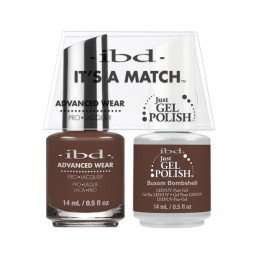 IBD IT'S A MATCH DUO JGP  ADVANCED WEAR BUXOM BOMBSHELL 14ML