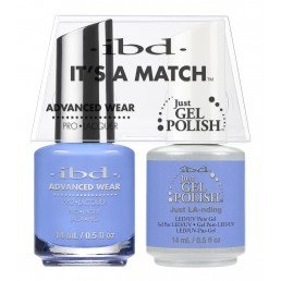 ibd It's A Match DuoJust Gel Polish & Advanced Wear Just LA (14ml)