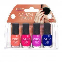 ORLY Nail Polish Coastal Crush 4pc Mini kit