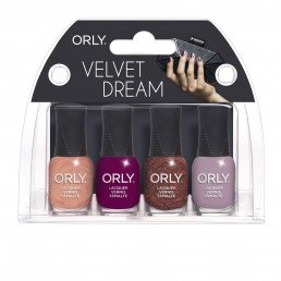 ORLY Nail Polish Velvet dream 4pc Mini kit