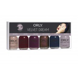 ORLY Nail Polish Velvet dream 6pc Kit