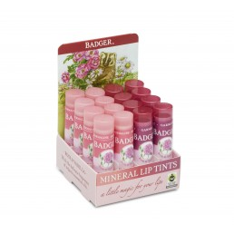 Badger Mineral Lip Tint Mixed Garnet  Rose (16pc x 4.2g)