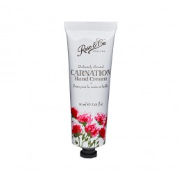 Rose  Co. Vintage Florals Carnation Hand Cream Tube (90ml)