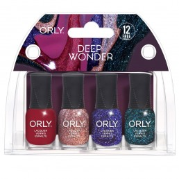 ORLY Nail Polish Deep Wonder4pc Mini kit