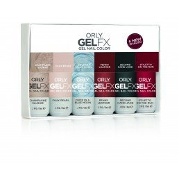 ORLY Gel FX Darlings Of Defiance 6pc